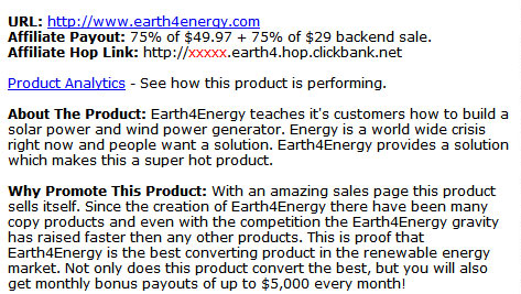 earth4energy scam makes lots of commission