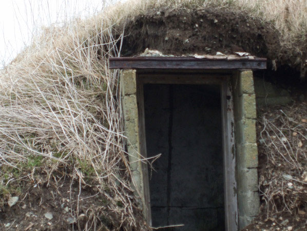 Root Cellar in Twillingate Newfoundland